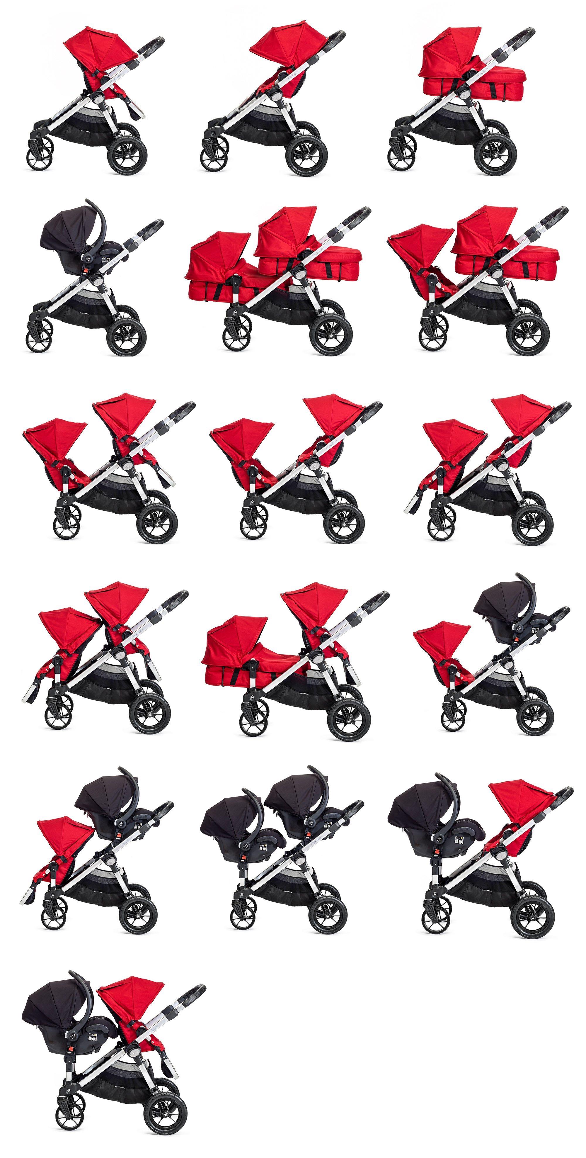 להפליא Baby Jogger City Select Stroller (Silver) – כזה אני רוצה ! I Need It LY-75