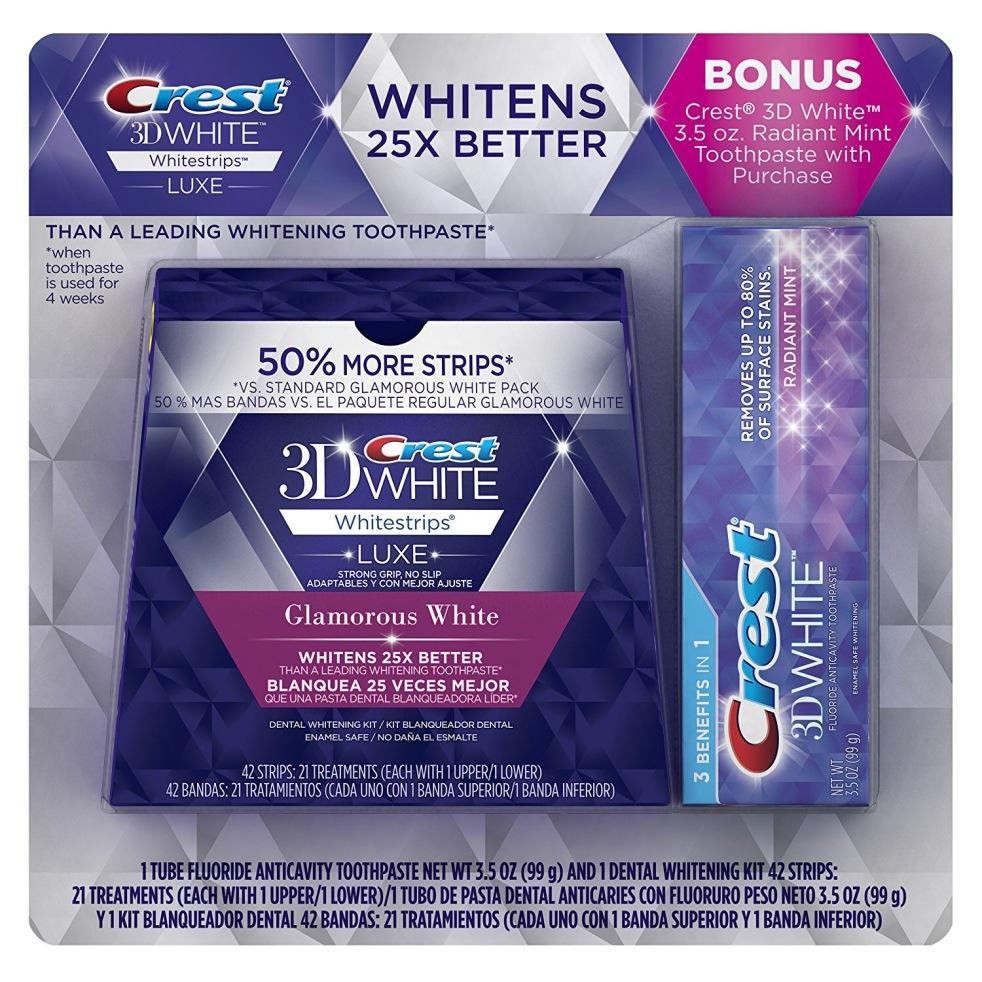 מגניב ביותר Crest 3D White Luxe Whitestrips + Bonus – כזה אני רוצה ! I Need It ZL-81