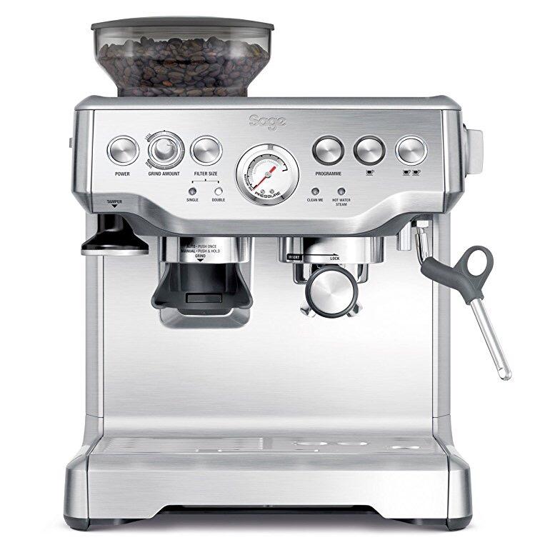 מעולה Sage by Heston Blumenthal the Barista Express Coffee Machine and OY-05