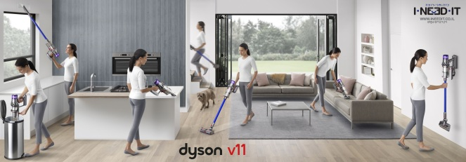 Dyson V11 Banner